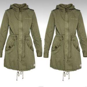 Aritzia Military Jacket Green Utility Jacket